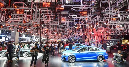 2017上海车展揭幕!最炫最酷的车都在这里了!