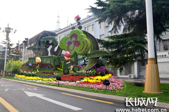 花城建设春季种植近尾声 275万盆鲜花扮靓国际庄