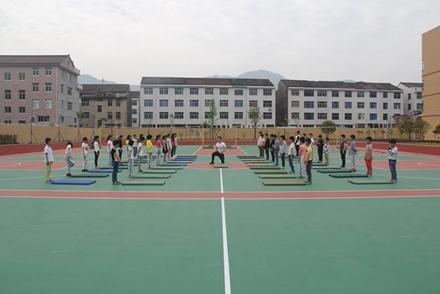 临海市举办小学体育教研活动