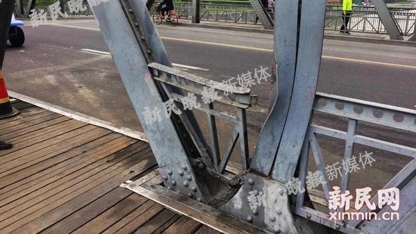 外白渡桥受损检测报告:桥梁整体受力状态相对稳定 维修方案待专家会审