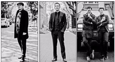 中传15位男老师街拍照走红网络涵盖老中青三代