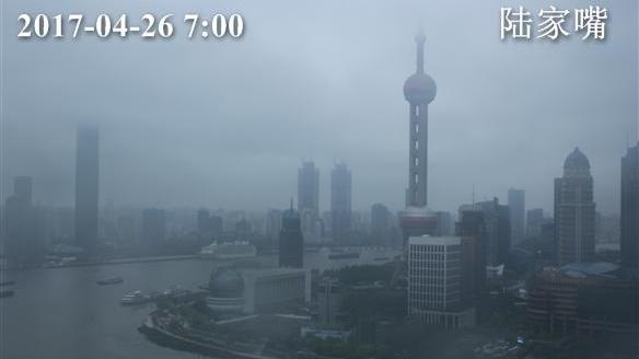 上海今早小雨最高温20℃ 中午雨止 明起天气晴好气温回升
