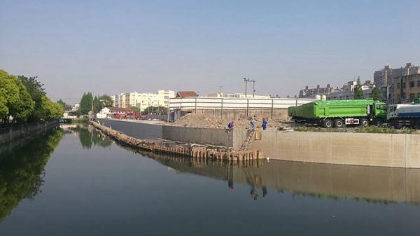 沪新江湾城小吉浦河重现水清岸绿 将新增1万平米沿河公共绿地