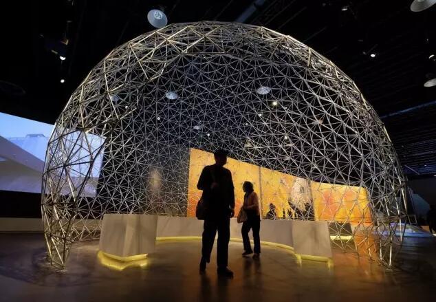 世博会博物馆明日揭开面纱 场馆内外先睹为快