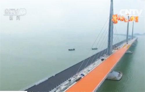 广东珠海:世界最长跨海大桥即将全线贯通
