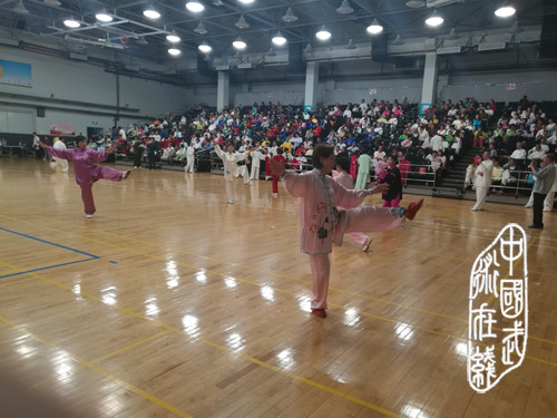 """""""五里桥杯""""上海市中老年人传统武术太极拳、械比赛隆重举行"""