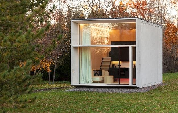 爱沙尼亚公司推出新款可移动迷你屋