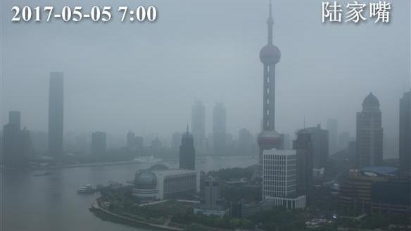 北方沙尘南下了! 上海今傍晚起空气变差 最高温23℃