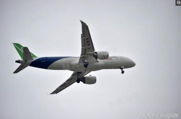 国产大飞机c919从2008年开始研制