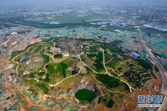济南卧牛山:滥采山体生态修复后变身地质公园