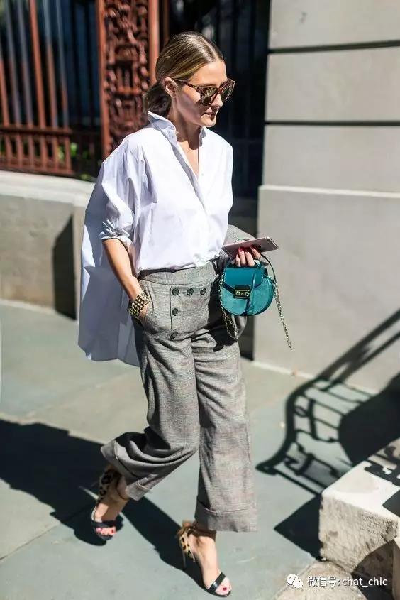 越夸张的裤子,越显腿细人瘦
