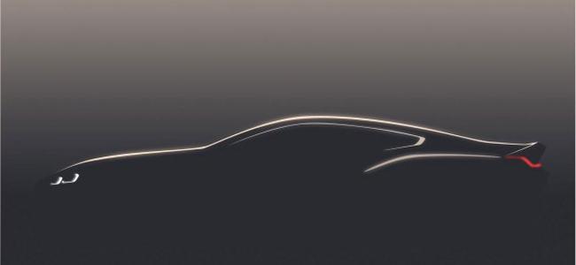 旗舰轿跑即将归来 宝马8系全新概念车预告图发布