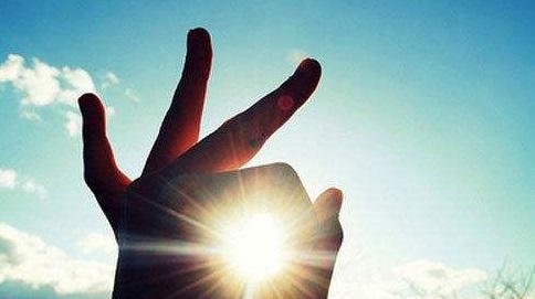 抓在手里的阳光