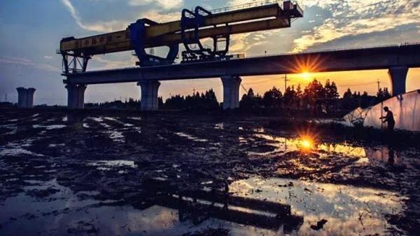 开建两年 沪通铁路嘉定区域工程进展如何?一起来看