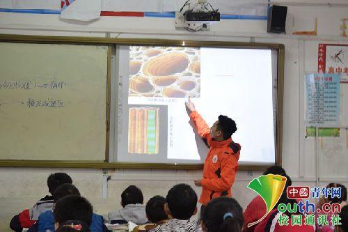 有一群学生以青春的名义支教 用行动诠释志愿精神