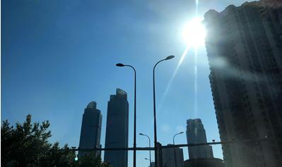 今日最高气温27℃ 周末延续好天气