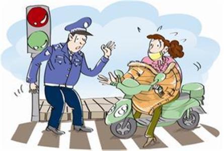 电动自行车被查处却逃逸 致民警受伤