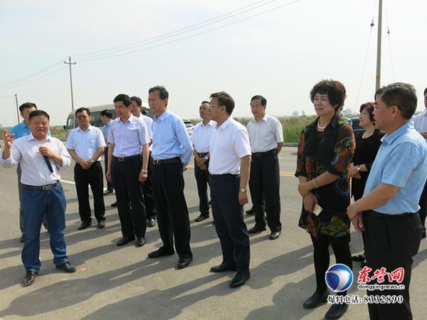 陈泽浦到垦利区调研经济社会发展和安全生产工作