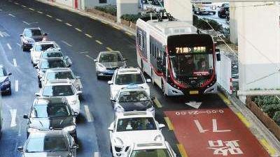 上海首条中运量公交71路客流稳步增长 已达预期规模