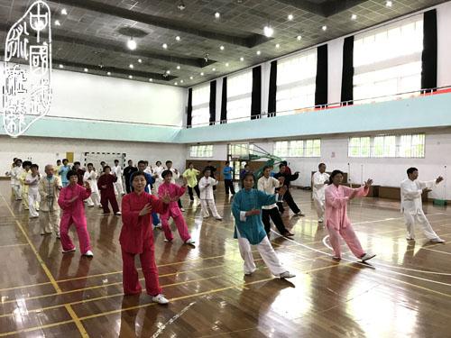 闵行区2017年太极拳委托培训启动