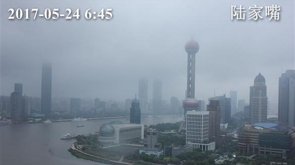 上海今上午小雨 最高温24℃ 周末升温至30℃