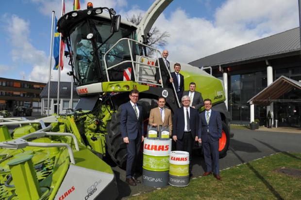 道达尔润滑油与CLAAS延长其合作伙伴关系至2021年