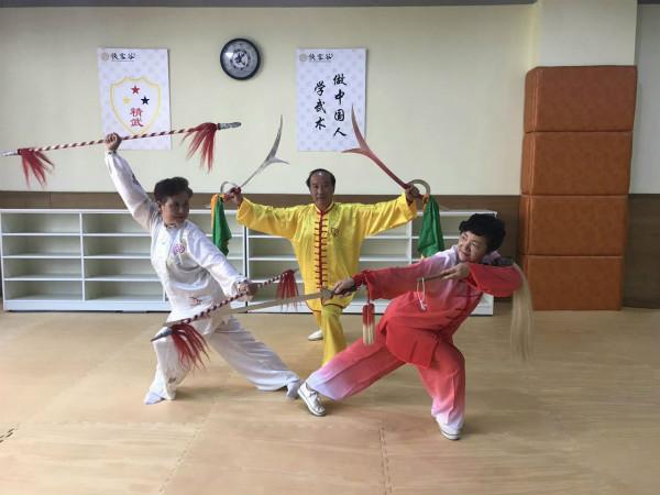 精武侠客谷与星光幼儿园举办《小小武术家》体验日活动