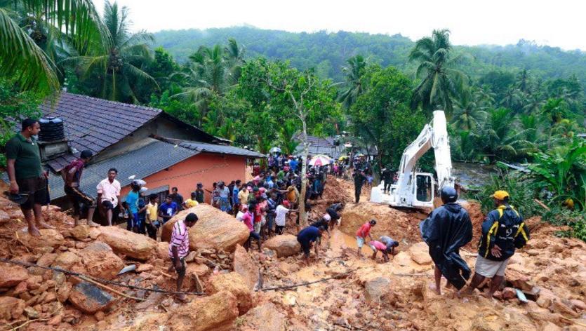 斯里兰卡泥石流和洪水致至少91人死亡 110人失踪