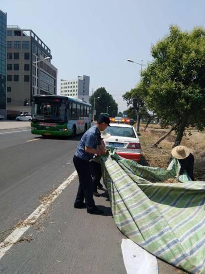 当端午遇上高温,公路人全力保航