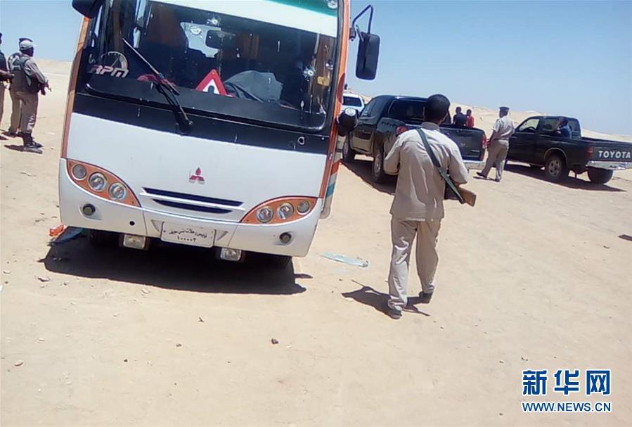 埃及公交车遭枪击数十人死伤