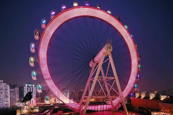 百位网红齐聚大悦城,首座楼顶游乐园空降魔都