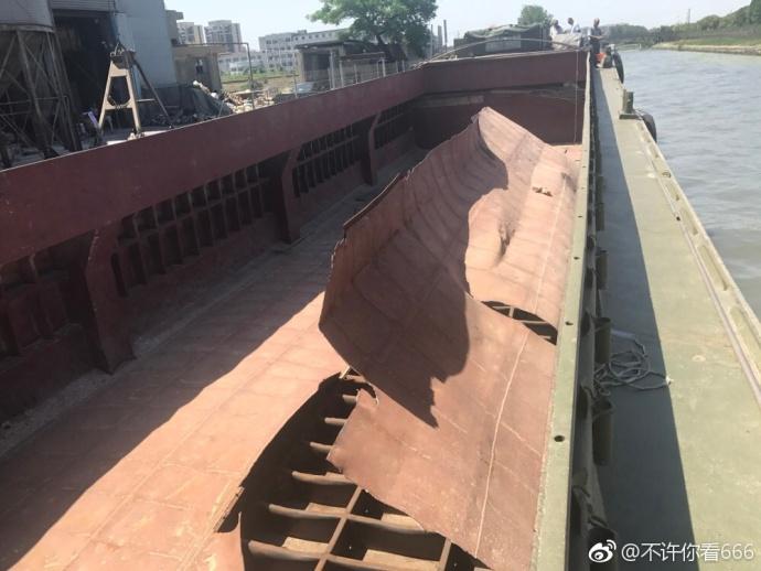 沪松江香川饲料码头一运输船疑似爆炸 两名工人死亡