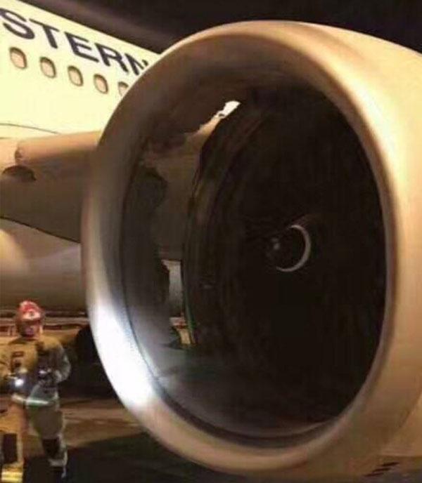 东航一悉尼飞上海客机发动机机匣损伤 起飞后及时返航