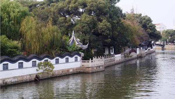 """利用得天独厚的河网资源优势 青浦拟建""""环城水系公园"""""""