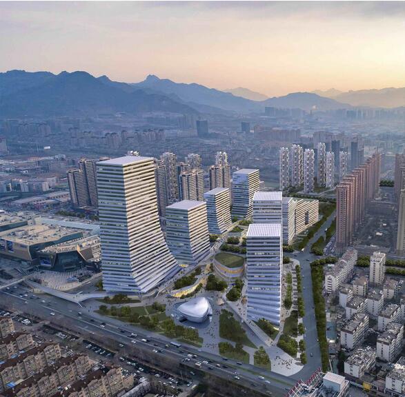 东李商圈二期工程年底开工 占地约为9万平米