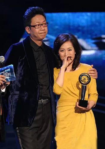 2007年,林海與何婕這兩位都很有才華的主持人走到了一起.圖片