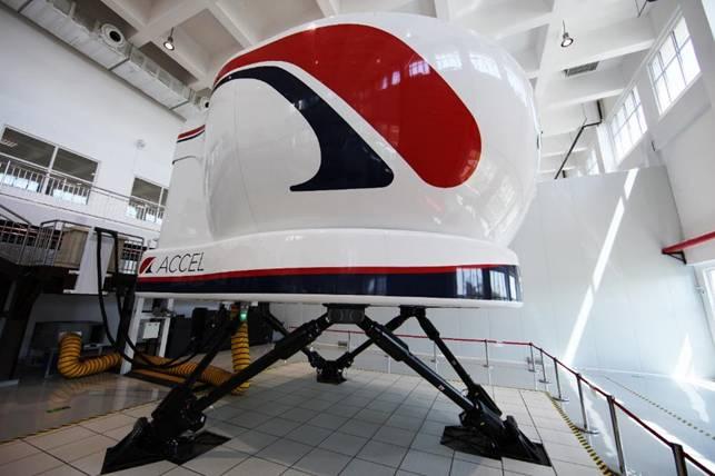 罗克韦尔柯林斯海特(天津)飞行模拟系统有限公司首台全动模拟机获得D级认证
