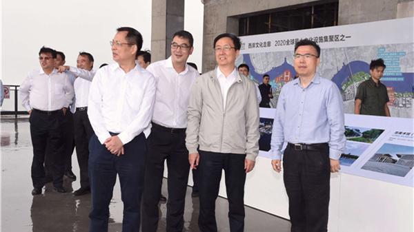 韩正赴徐汇调研 要求努力补齐短板狠抓城市精细化管理