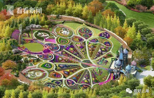城堡、鲜花谷...魔都这座超大公园简直美上天了!