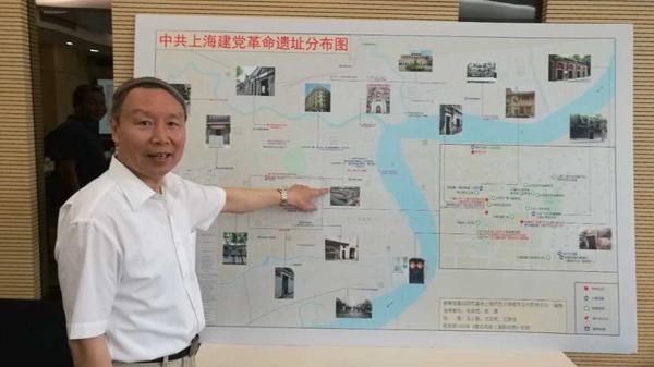 完整标注建党初期在沪革命活动轨迹 中共上海建党革命遗址图出炉