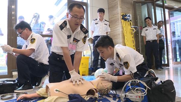 上海急救技能竞赛开幕 250多名选手现场PK