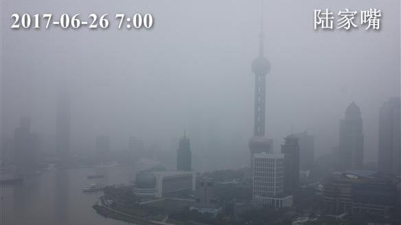 上海今最高28℃ 本周继续雨字主打