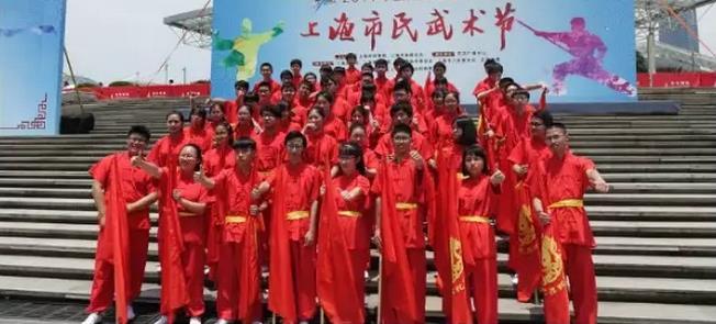 高东中学组建学生太极拳社 推广龙身蛇形太极