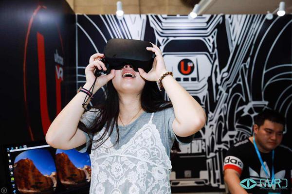 """""""黑科技""""亮相虚拟现实行业""""小世博会"""" 第二届全球虚拟现实大会在上海金桥开幕"""