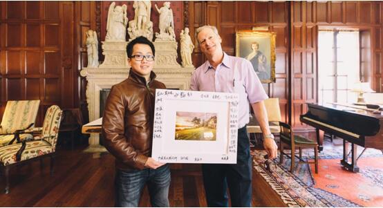 90后摄影师William L. Wu胡威廉作品获得外国友人收藏