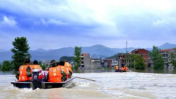 湖北五峰遭特大暴雨袭击 3座电站被冲毁
