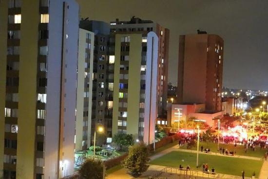 哥伦比亚一住宅建筑发生爆炸起火 26人受伤