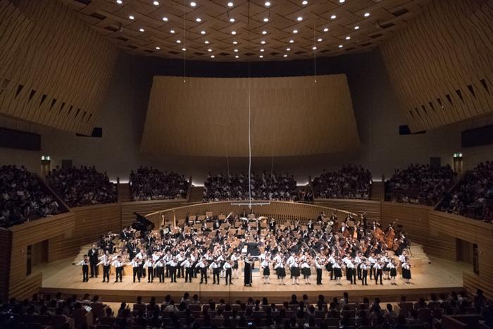盛夏之约  茸城之乐——2017松江区学生交响音乐会盛大开演