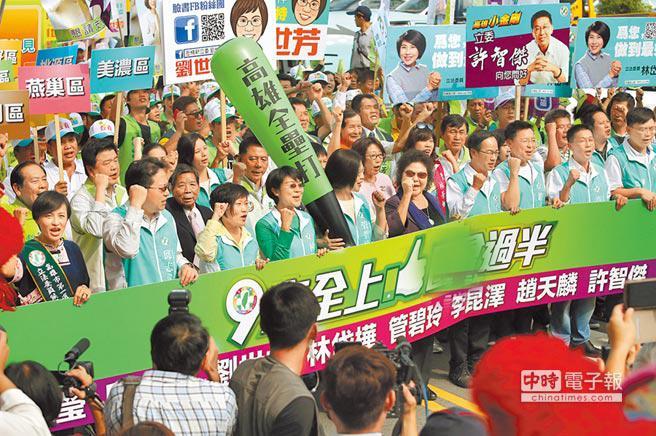 <a href='http://search.xinmin.cn/?q=民进党' target='_blank' class='keywordsSearch'>民进党</a>在高雄20年干了什么?人口成长垫底经济发展停滞