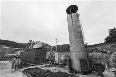 垃圾填埋气发电 废气变清洁能源